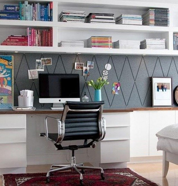 comment am nager son bureau domicile blog mode femme. Black Bedroom Furniture Sets. Home Design Ideas