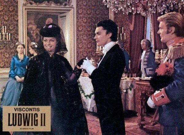 Louis Vuitton : robe Romy Schneider dans Ludwig