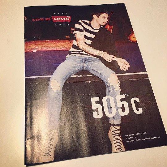 Jeans Levi's 505 C