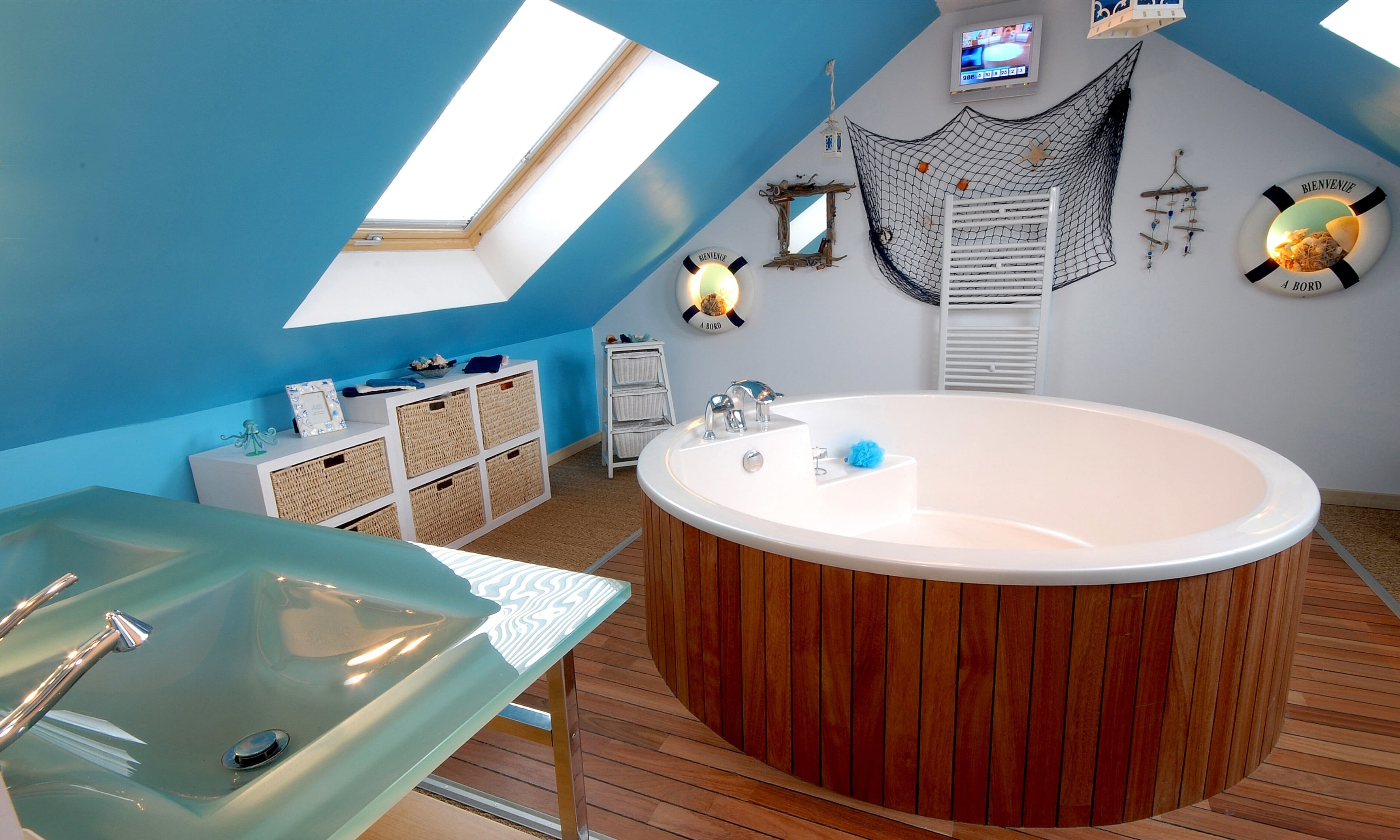 spa dans salle de bain